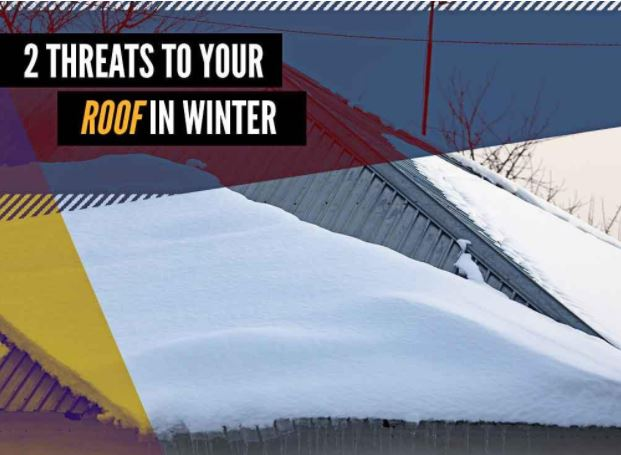 2 Threats to Your Roof in Winter